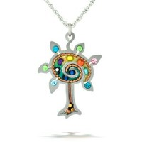 Seeka Blossoming Tree of Life Necklace from The Artazia Collection N1032
