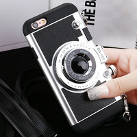 Classic 3D Vintage Style Camera shape Rugged Shockproof Case