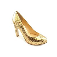 Guess Shaney2 Womens Size 8.5 Gold Pumps Heels Shoes