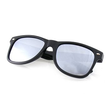Emblem Eyewear -  Retro Horned Rim Polarized Lens Sunglasses