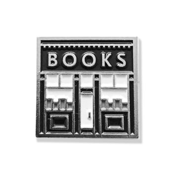 Book Shop Enamel Pin