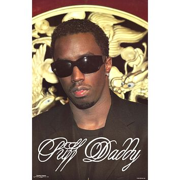 Puff Daddy Sean Combs Diddy 1998 Poster 22x34