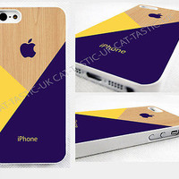 case,cover fits iPhone models,Pastel,violet,yellow,geometric,abstract,retro,wood