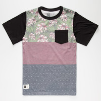 Lira Leston Boys Pocket Tee Burgundy  In Sizes
