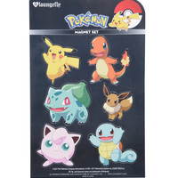 Loungefly Pokemon Characters Magnet Sheet