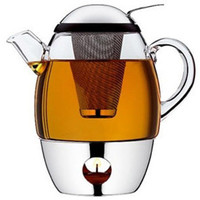 The Green Head - SmarTea Teapot With Warmer