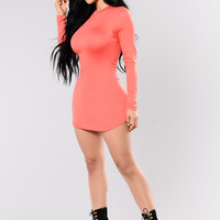 Beverly Hills Tunic - Salmon