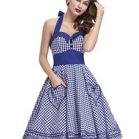 Daisy Pinup Gingham Dress