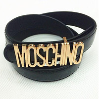 Tagre™ MOSCHNO Woman Fashion Candy Color Buckle Leather Belt