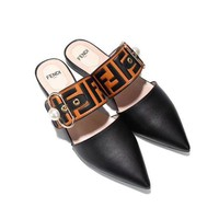 Fendi Beautiful fashion sandals and high heels shoes