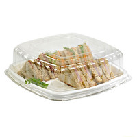 Square Sugarcane Dish 10.75 x 10.82/Case of 24