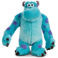 Sulley Plush - Monsters, Inc. - 13 1/2''   Disney Store