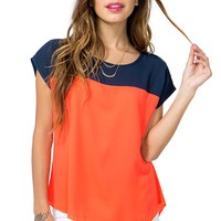 Favorite Color Block Top