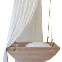 Bed Swing Bassinet - Contemporary - Baby Swings And Bouncers - by Salt Wood Company