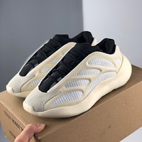 Adidas Yeezy 700 Boost fish skeleton reflective wear-resistant non-slip casual casual running shoes