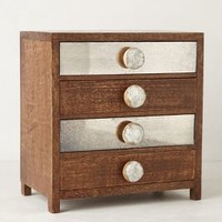 Petite Bureau Jewelry Box by Anthropologie Cedar One