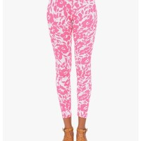 Pink Mix it up Printed Leggings | $10 | Cheap Trendy Leggings Chic Discount Fashion for Women | Mod