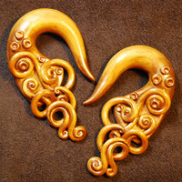 Cleopatra - Earrings for Stretched Lobes - Gauges