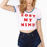 Lazy Oaf Mindfull Crop Top
