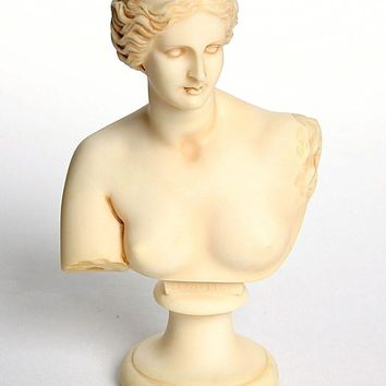 Ancient Greek Goddess Love Venus de Milo Aphrodite of Melos Bust 9H
