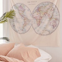 Catherine Holcombe For Deny Two Hemispheres Tapestry | Urban Outfitters