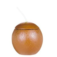 Plastic Coconut Sippy Cup- Party City