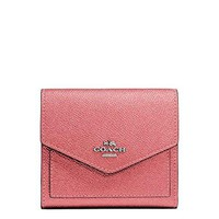 COACH Womens Metallic Small Wallet