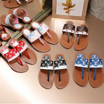 LV New slippers in spring and summer