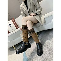 lv louis vuitton trending womens men leather side zip lace up ankle boots shoes high boots 213