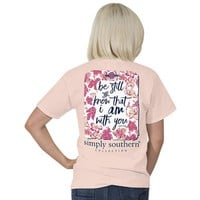 "Simply Southern ""Be Still"" Short Sleeve Tee"