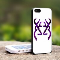 Browning Purple - Deer Hunting Girl - For iPhone 4,4S Black Case Cover