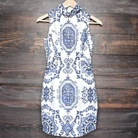 Oh So Fine! Porcelain Print Dress