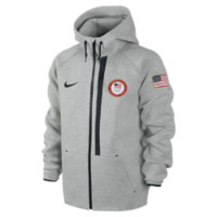 Nike Tech Fleece 3.0 Full-Zip (USA) Men's Hoodie (Grey)