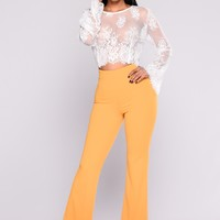 Fell So Deep Pants - Dark Yellow