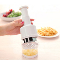 New Onion Chopper Slicer Vegetable Fruit Salad Onion Hand Chopper Slicer Cutter Kitchen Accessories White 21x 8.5cm