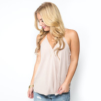 Civil Wrap Tank In Mocha