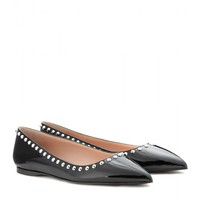 miu miu - patent-leather ballerinas