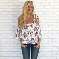 Sweet Life Floral Blouse