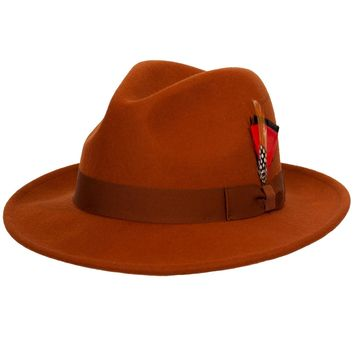 Reverb Classic Wool Fedora by 9th Street Hats