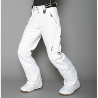 Marker Women's Farenheit Insulated White Snow Pants | Overstock.com