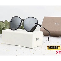 Dior Popular Ladies Chic Summer Sun Shades Eyeglasses Glasses Sunglasses 2#