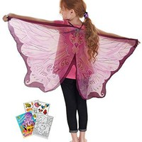 Douglas Toys Dreamy Dress-Ups 50582 Pink Fairy Wings with Coloring Book