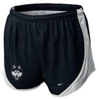 Nike UConn Huskies Women's Tempo Performance Shorts - Navy Blue