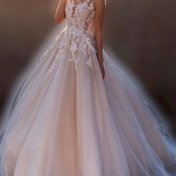 Aragon Sleeveless Wedding Dress