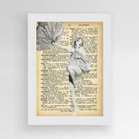 Instant download, Marylin Monroe Poster, Marylin Monroe Dictionary Art, Upcycled dictionary art, Book print page art,