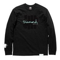UNDEFEATED X DIAMOND SUPPLY CO. L/S TEE | Undefeated