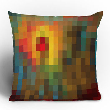DENY Designs: Glorious Colors Throw Pillow, at 28% off!