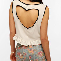 Urban Outfitters - Glamorous Heart Cutout Tank Top