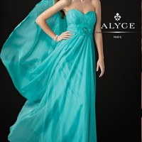 Alyce B'Dazzle 35418 Pool Evening Gown
