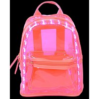 LED Holographic Mini Backpack